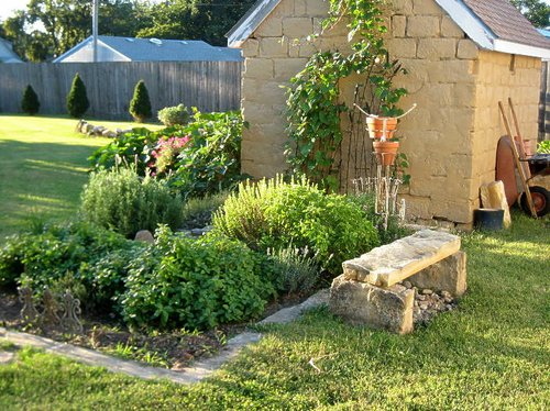 herb garden outdoor