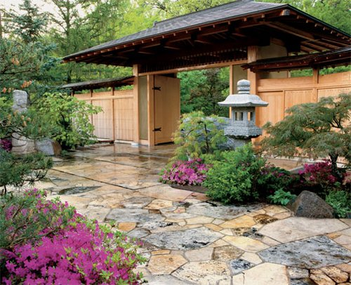 Beautiful Japanese Garden Style Photo