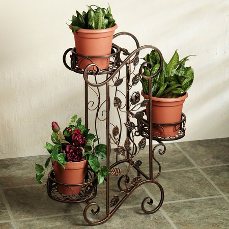 scrolled flowers garden decorating with garden accents wwwcoolgardenme