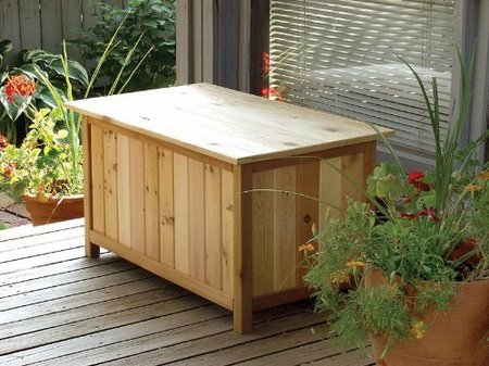 Garden Storage Boxes Ideas