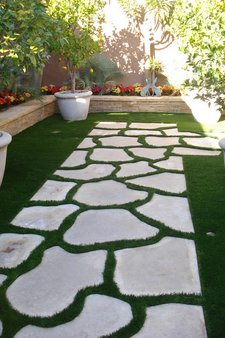 How To Make A Garden Walkway Using Stepping Stones Www
