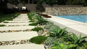 How To Make A Garden Walkway Using Stepping Stones