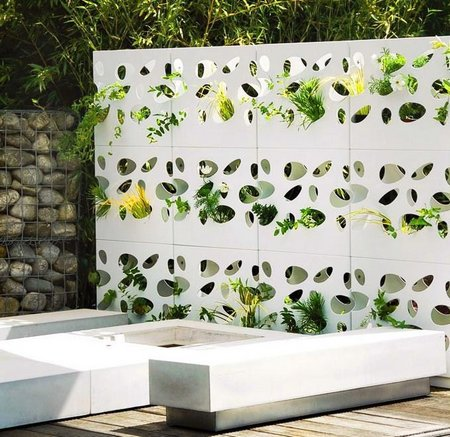 Marvelous Garden Divider U2013 Equipped With Plants That Grow Through The Openings, Garden  Partitions Create Both Outside And Inside An Attractive, Functional Form Of  ...