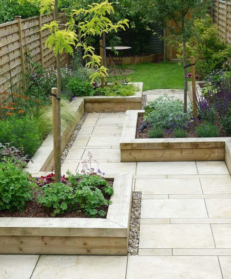 Long Narrow Garden Design Ideas: Planting In The Narrow Garden