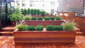 Planter Boxes As Attractive Garden Focal Points
