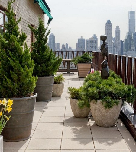 Small Roof Garden Finest Roof Top Terrace Small Gardens