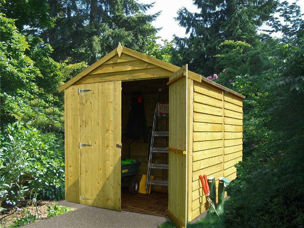 4 Eco-friendly ways to use an 8×6 shed